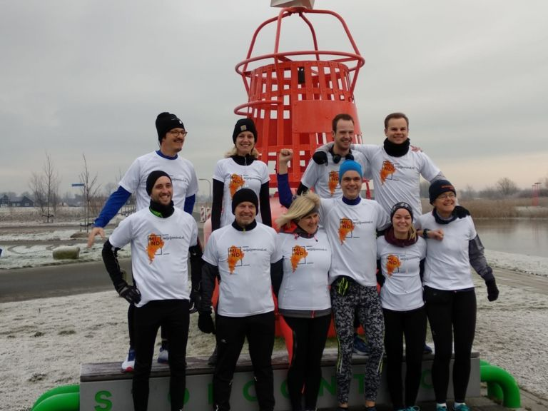 MIND Blue Monday Run 2019 Blauwestad Groningen
